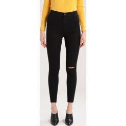 New Look Tall KNEE SLASH DISCO Jeans Skinny Fit black. Czarne jeansy damskie New Look Tall. Za 129,00 zł.