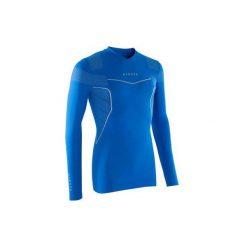 Podkoszulek Keepdry 500. Niebieskie odzież termoaktywna męska KIPSTA, m, ze skóry. Za 49,99 zł.