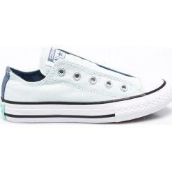 Converse - Tenisówki dziecięce Chuck Taylor All Star. Szare buty sportowe dziewczęce Converse, z gumy. W wyprzedaży za 159,90 zł.