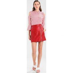 Minispódniczki: Oakwood Spódnica skórzana red
