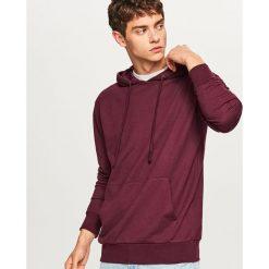 Bluza kangurka z kapturem - Bordowy. Szare bluzy męskie rozpinane marki TARMAK, m, z bawełny, z kapturem. Za 79,99 zł.