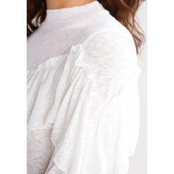 Bluzki asymetryczne: Moves FLANGA Bluzka z długim rękawem ivory