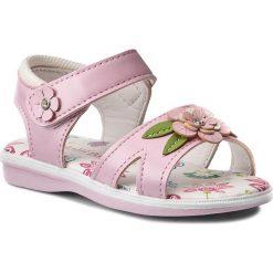 Sandały dziewczęce: Sandały NELLI BLU – C147C081505-18 Różowy