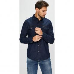 Lee - Koszula. Szare koszule męskie jeansowe marki Lee, l, z klasycznym kołnierzykiem, z długim rękawem. Za 329,90 zł.