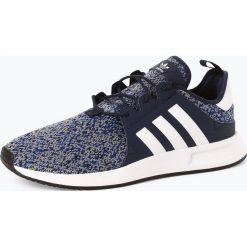 Adidas Originals - Tenisówki męskie, niebieski. Niebieskie tenisówki męskie adidas Originals, w paski, z dzianiny, z paskami. Za 449,95 zł.