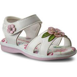 Sandały dziewczęce: Sandały NELLI BLU – C147C081505-18 Biały