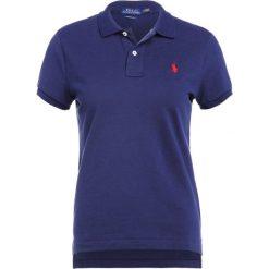 Polo Ralph Lauren SKINNY FIT Koszulka polo newport navy. Niebieskie bluzki asymetryczne Polo Ralph Lauren, xl, z bawełny. Za 379,00 zł.