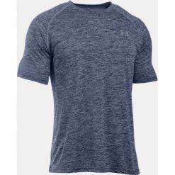 Under Armour Koszulka męska Tech Short Sleeve T-Shirt Academy/Steel r. XS (1228539414). Szare koszulki sportowe męskie Under Armour, m. Za 62,22 zł.