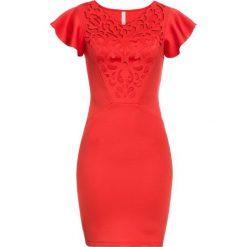 Sukienki hiszpanki: Sukienka bonprix czerwony