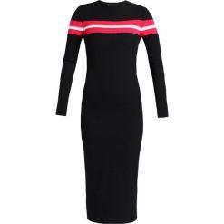 Sukienki dzianinowe: Topshop Petite SPORTS PANEL BODYCON Sukienka dzianinowa black