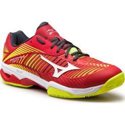 Buty sportowe męskie: Buty MIZUNO - Wave Exceed Tour 3 Cc 61GC187462  Czerwony