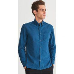 Koszula regular fit - Turkusowy. Niebieskie koszule męskie Reserved, m. Za 119,99 zł.