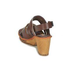 Sandały Art  AMSTERDAM 1055. Brązowe sandały trekkingowe damskie Art, z kauczuku. Za 384,30 zł.