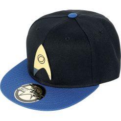Czapki damskie: Star Trek Science Logo Czapka Snapback czarny/niebieski