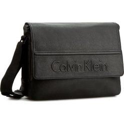 Torba na laptopa CALVIN KLEIN BLACK LABEL - Speed Messenger With Flap K50K502154  001. Czarne plecaki męskie marki Calvin Klein Black Label, z materiału. W wyprzedaży za 349,00 zł.