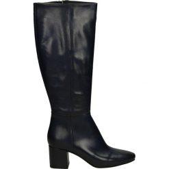 Kozaki - G-949-7-SC BL. Czarne buty zimowe damskie marki Venezia, ze skóry. Za 299,00 zł.