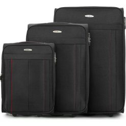Zestaw walizek V25-3S-27S-10. Czarne walizki marki Wittchen. Za 434,31 zł.