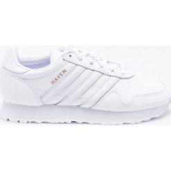 Adidas Originals - Buty Haven. Szare buty sportowe damskie adidas Originals, z materiału. W wyprzedaży za 449,90 zł.