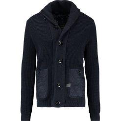 GStar AVIHU SHAWL Kardigan mazarine blue/black. Czarne kardigany męskie G-Star, l, z bawełny. W wyprzedaży za 421,85 zł.