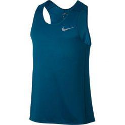 T-shirty męskie: koszulka do biegania męska NIKE DRI-FIT MILER TANK / 833589-457 – NIKE DRI-FIT MILER TANK