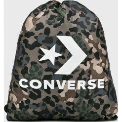 Converse - Plecak. Szare plecaki damskie marki Converse, z nylonu. W wyprzedaży za 59,90 zł.