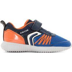 Tenisówki J WAVINESS B.C. Brązowe buty sportowe chłopięce Geox, z syntetyku. Za 205,76 zł.