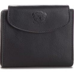Duży Portfel Męski STEFANIA - 009D Czarny. Czarne portfele męskie marki Stefania, ze skóry. Za 119,00 zł.