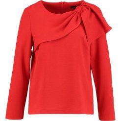 Bluzki asymetryczne: Cortefiel BLOUSE WITH SIDE BOW DETAIL Bluzka red