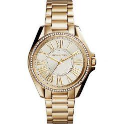 Zegarek MICHAEL KORS - Kacie MK6184 Gold/Gold. Żółte zegarki damskie Michael Kors. W wyprzedaży za 809,00 zł.