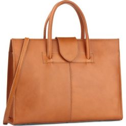 Torebka CREOLE - RBI10171 Koniak. Brązowe torebki klasyczne damskie Creole, ze skóry, duże. W wyprzedaży za 279,00 zł.