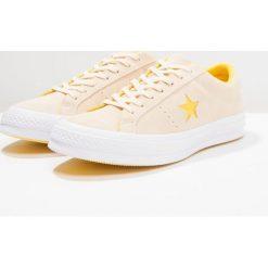 Converse ONE STAR OX PINESTRIPE Tenisówki i Trampki vanilla/solar power/white. Żółte tenisówki męskie Converse, z materiału. Za 359,00 zł.