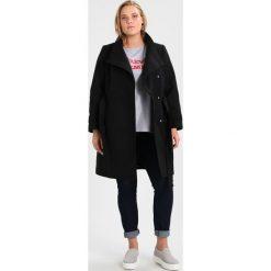 Płaszcze damskie pastelowe: Evans FUNNEL NECK COAT Płaszcz wełniany /Płaszcz klasyczny black