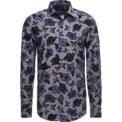 Koszule męskie na spinki: Seidensticker SLIM NEW KENT LEGGIUNO Koszula biznesowa blue