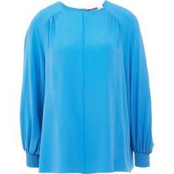 Sportmax Code MONETA Bluzka azurblau. Niebieskie bluzki asymetryczne Sportmax Code, z acetatu. Za 829,00 zł.