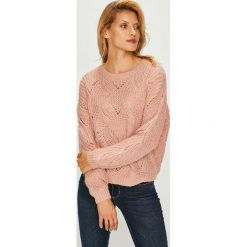 Swetry klasyczne damskie: Only - Sweter Havana