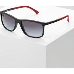 Emporio Armani Okulary przeciwsłoneczne black rubber. Czarne okulary przeciwsłoneczne męskie wayfarery Emporio Armani. Za 609,00 zł.