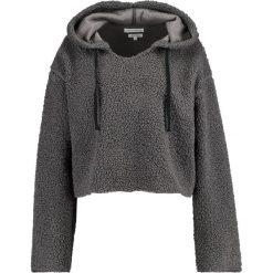 Bluzy rozpinane damskie: Native Youth SHERPA HOODY Bluza z kapturem grey