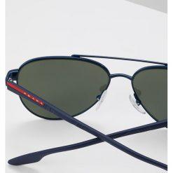 Prada Linea Rossa Okulary przeciwsłoneczne blue/green mirror. Niebieskie okulary przeciwsłoneczne męskie aviatory Prada Linea Rossa. Za 799,00 zł.