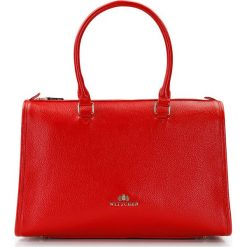 Torebka damska 87-4E-211-3. Czerwone kuferki damskie Wittchen, w paski, do ręki. Za 479,00 zł.