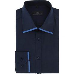 Koszula MARTINO slim 16-03-10-K. Niebieskie koszule męskie na spinki Giacomo Conti, m, z bawełny, z klasycznym kołnierzykiem. Za 149,00 zł.