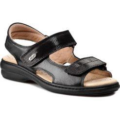 Rzymianki damskie: Sandały AXEL – 2154 Czarny/Egzotico