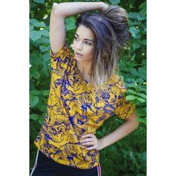 T-shirt damski TYGRYSY. Szare t-shirty damskie Pakamera, z dekoltem w łódkę. Za 99,00 zł.