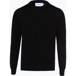Calvin Klein Jeans - Sweter męski z dodatkiem kaszmiru, czarny. Czarne swetry klasyczne męskie marki Calvin Klein Jeans, l, z bawełny. Za 449,95 zł.