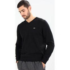 Swetry klasyczne męskie: Lacoste Sweter schwarz