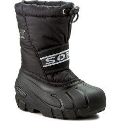 Buty zimowe chłopięce: Śniegowce SOREL – Childrens Cub NC 1881 Black 011