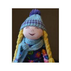 Przytulanki i maskotki: Lalka szmaciana, przytulanka w czapce