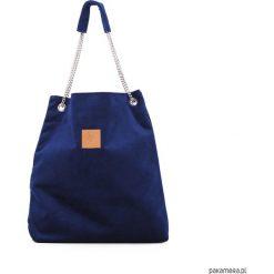 Torba worek Mili Chic MC5 - granatowa. Niebieskie torebki klasyczne damskie Pakamera. Za 189,00 zł.