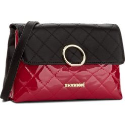 Listonoszki damskie: Torebka MONNARI – BAG9991-020 Black With Red