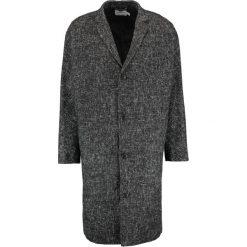 Topman PRINCE Płaszcz wełniany /Płaszcz klasyczny black. Czarne płaszcze na zamek męskie Topman, m, z materiału, klasyczne. W wyprzedaży za 407,20 zł.