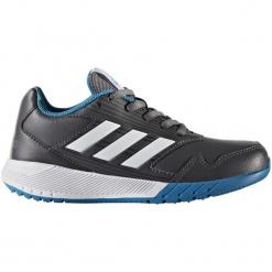 Adidas Buty Do Biegania Altarun K Grey Five/Ftwr White/Utility Black 35. Białe buciki niemowlęce Adidas, na sznurówki. W wyprzedaży za 115,00 zł.